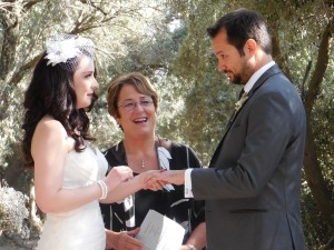 A Ring for the Justin Surrounded by Ancient Olive Trees