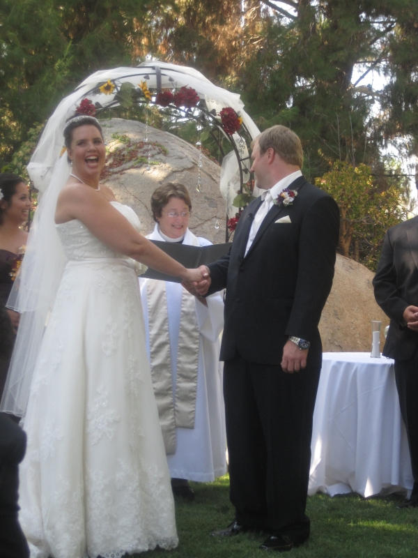 Catholic Wedding at an Outdoor Venue using an Officiant   Ceremonies