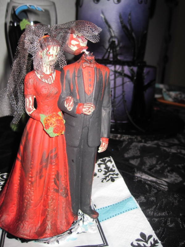 Halloween Wedding Ceremony