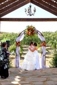 lesbian wedding officiant Temecula CA